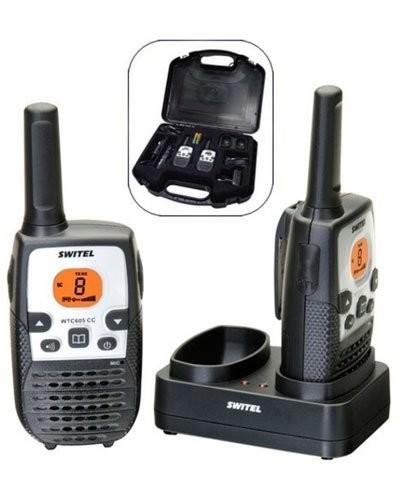 acheter coffret de deux talkie walkies longue port e avec chargeur. Black Bedroom Furniture Sets. Home Design Ideas
