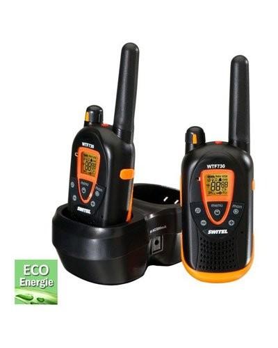 Set De Talkieswalkies Longue Distance Switel WTF Pas Cher - Talkie walkie longue portée