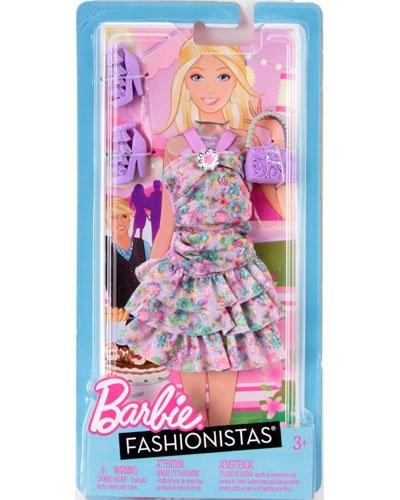 Achat vente habit barbie fashionista avec accessoires - Robe barbie adulte ...
