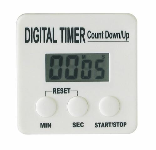 Minuterie numérique à compte à rebours