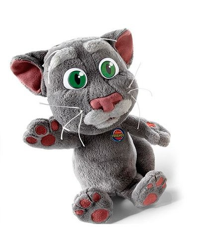 prix peluche talking tom le chat qui parle. Black Bedroom Furniture Sets. Home Design Ideas
