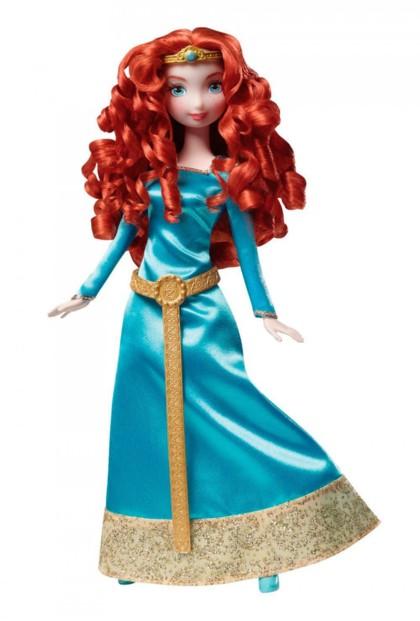 Poup e m rida de rebelle poup e princesse disney en robe - Couronne princesse disney ...