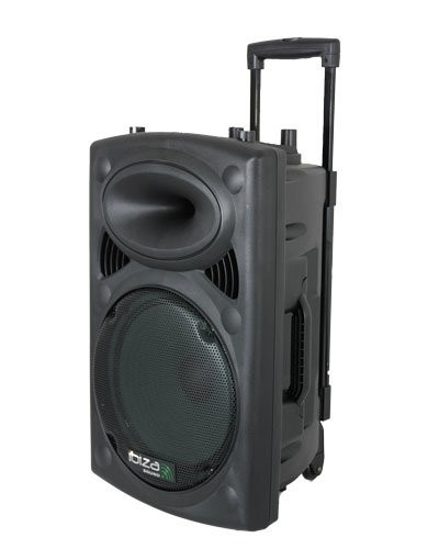 Sono portable + 2 micros Ibiza Sound PORT10 - 500 W