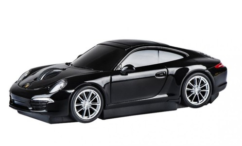 souris voiture sans fil porsche 911 carrera s noir autodrive 95902. Black Bedroom Furniture Sets. Home Design Ideas