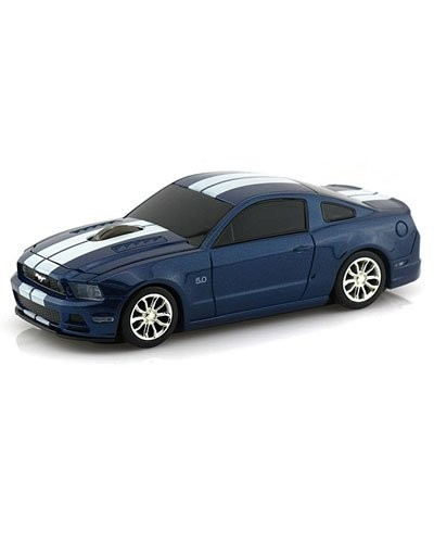 souris voiture sans fil ford mustang gt bleu landmice souris supercar. Black Bedroom Furniture Sets. Home Design Ideas