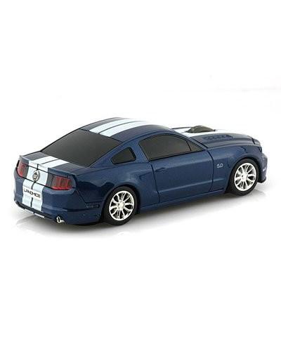 souris voiture sans fil ford mustang gt bleu landmice souris supercar. Black Bedroom Furniture Sets. Home Design Ideas