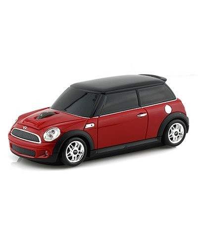 souris voiture sans fil mini cooper rouge landmice. Black Bedroom Furniture Sets. Home Design Ideas
