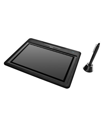 tablette graphique grand cran et stylet trust slimline widescreen tablet. Black Bedroom Furniture Sets. Home Design Ideas