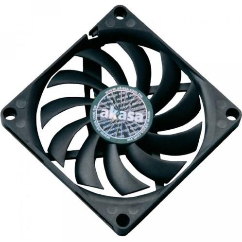 Ventilateur extra-fin pour boîtier et composants - 8 cm