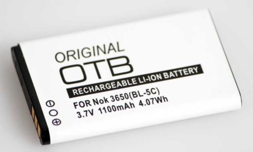 batterie de remplacement bl-5c 1100 mah pour nokia et enceintes nomades