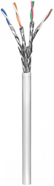 Câble réseau Cat6 S/FTP LSOH souple - Au mètre