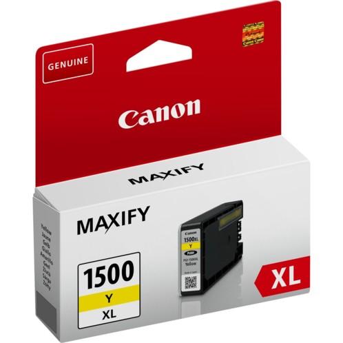 Cartouche originale Canon PGI-1500 XL Jaune