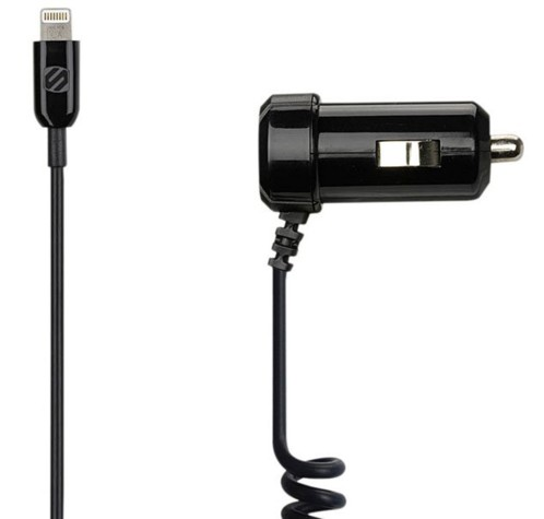 Chargeur Lightning pour allume-cigare Scosche