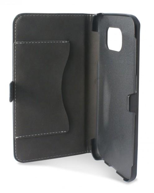 Coque de protection avec clapet folio pour Samsung Galaxy S6