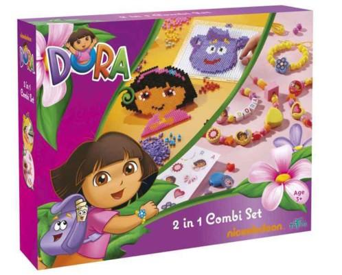 Boite d'activités DORA - création de colliers & bracelets + perles à repasser