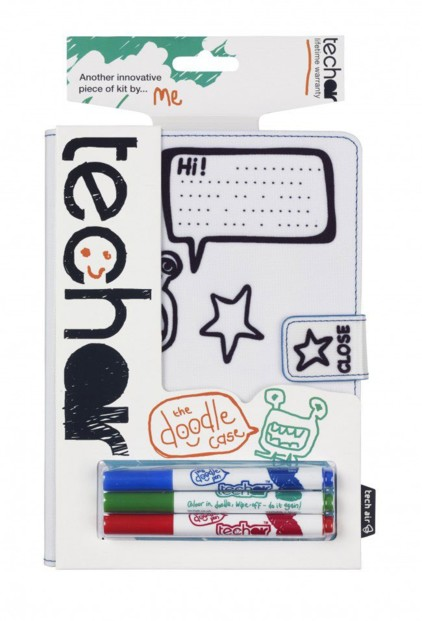 Étui tablette 7'' et iPad Mini coloriable - TechAir Doodle Case