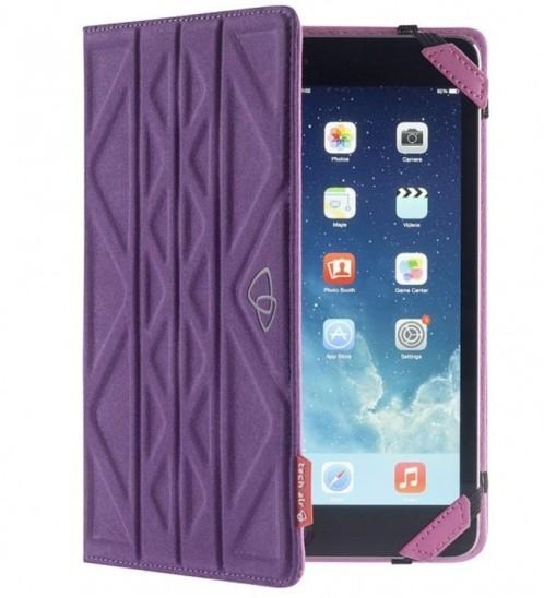 Étui Flip & Reverse pour tablette 7'' et iPad Mini - Violet