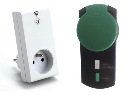 Kit prise Smart wifi avec prise murale télécommandée - Extérieur