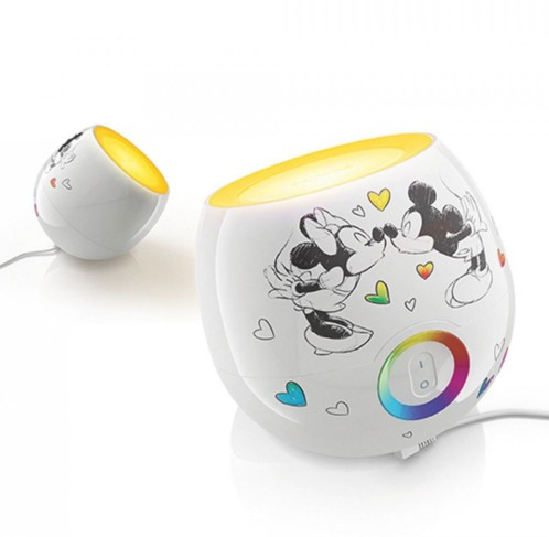 lampe d co pour chambre d 39 enfant philips livingcolors mickey. Black Bedroom Furniture Sets. Home Design Ideas