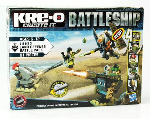 Pack Kre-o Battleship : Land Defense