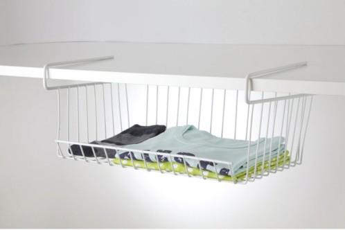 Panier de rangement pour étagère 40 x 30 cm