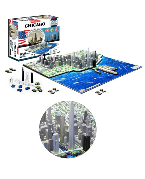 Puzzle 4D ''Métropoles'' - Chicago