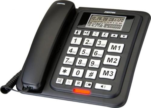 Téléphone filaire à grandes touches Switel ''TC 68''