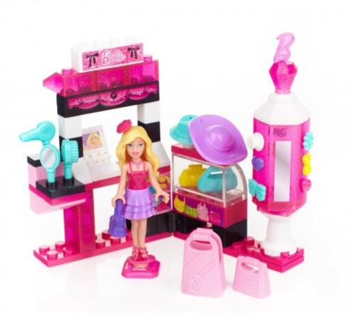 Barbie Build'n Style - Barbie ''Magasin d'accessoires de mode''