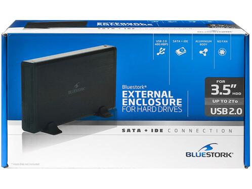Boîtier 3,5'' pour disque dur IDE / SATA BlueStork