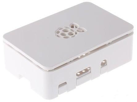 Boîtier de protection blanc pour Raspberry Pi 1 et 2 B/B+  et 3 modèle B