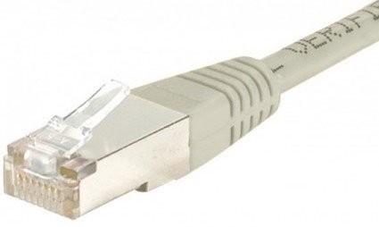 Câble RJ45 Cat5e U/UTP Gris - 1,50m