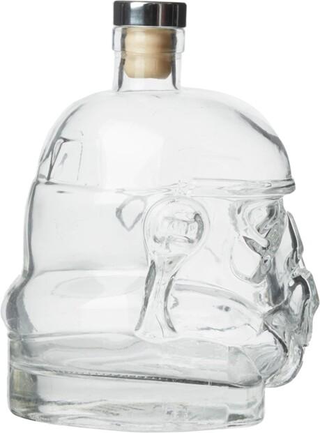 flasque de presentation pour whisky star wars stormtrooper episode 4 5 6 capacité 75 cl