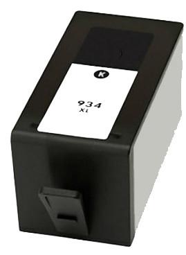 cartouche hp 934 xl noir remanufacturée pour officejet pro