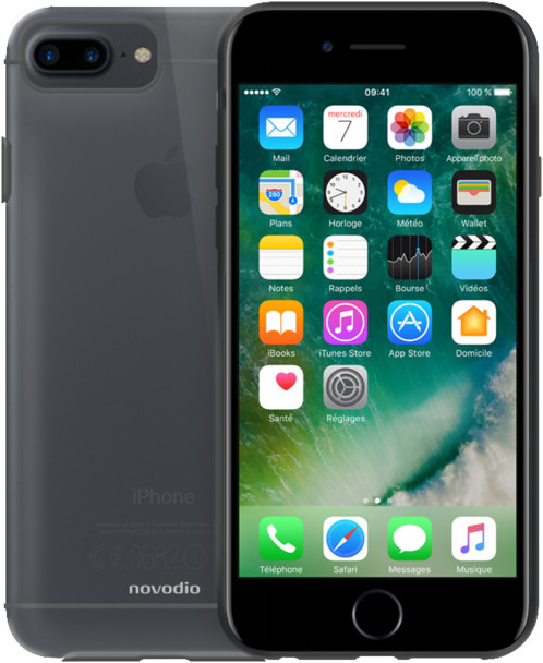coque transparente souple pour iphone 7 Plus novodio glam shell 7