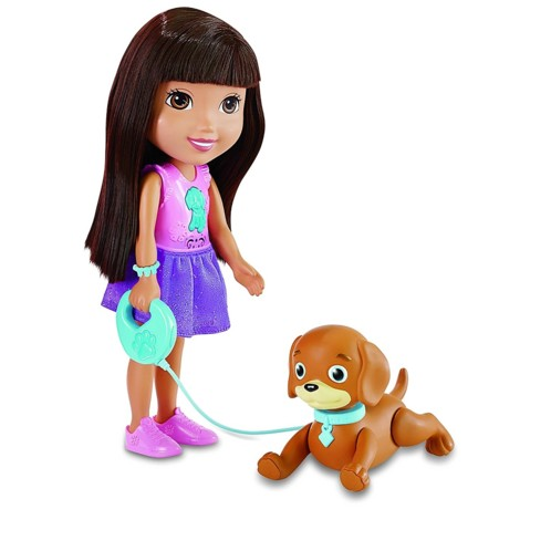 jouet dora l'exploratrice et son chien savant perrito parlant interactif fisher price