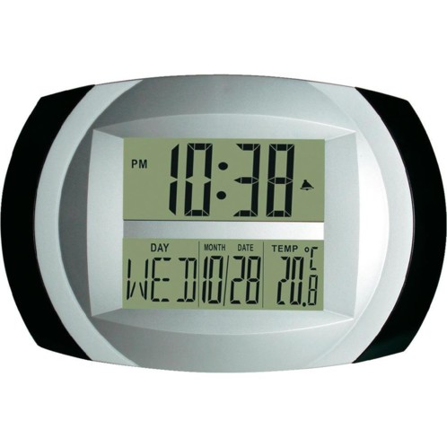 horloge digitale murale grands chiffres avec thermometre inovaxion inopmt01