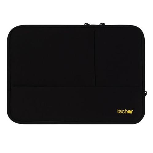 """housse plate en néoprène pour notebook et tablette 10"""" 11 pouces techair tanz0348 noir"""