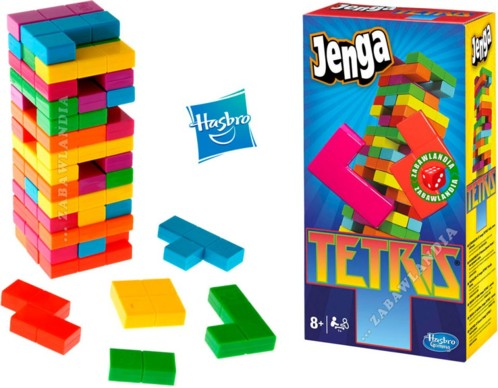 Acheter Jeu De Socit Jenga Tetris Moins Cher Pearl
