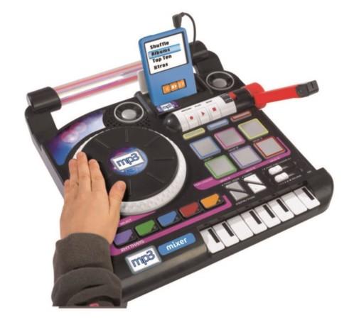 Jouet platine dj mix pour enfants avec effets mp3 mix - Table de mixage pour enfant ...