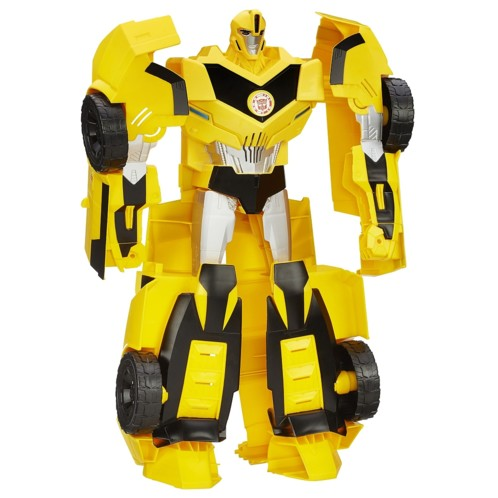 jouet robot transformable super bumblebee transformers hasbro. Black Bedroom Furniture Sets. Home Design Ideas
