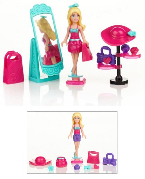 Kit d'accessoires Barbie Build'n Style - Barbie experte en tendances