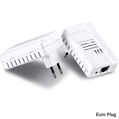 kit 2 adaptateurs cpl haut debit trendnet tpl408e2k 600 mbps avec cryptage