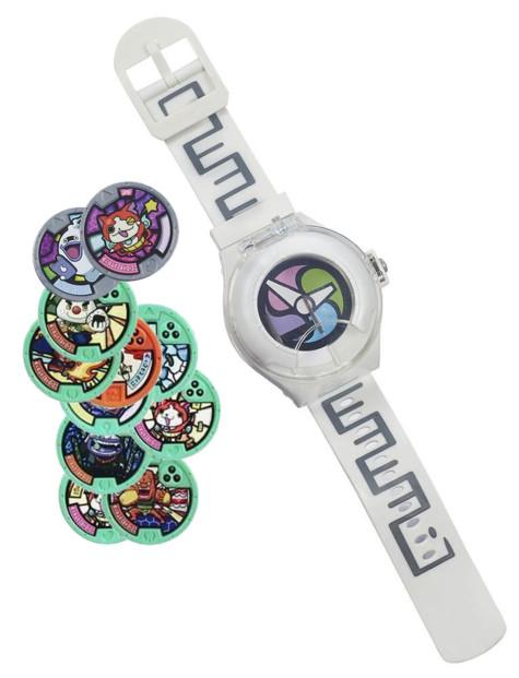 Montre parlante Yo-Kai Watch + 11 Médailles