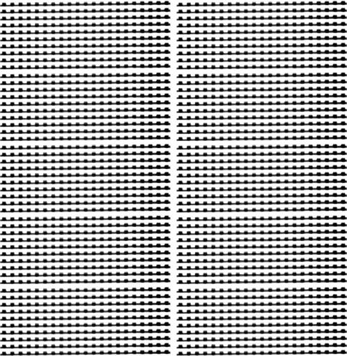 Pack de 100 peignes de reliure format A4 - 8 mm - Noir