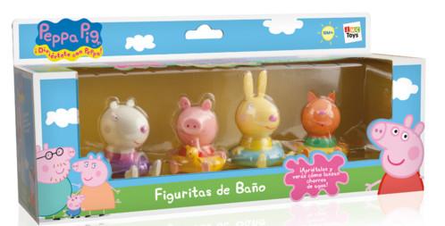 Pack De Figurines Peppa Pig Pour Le Bain Avec Suzy Candy Et