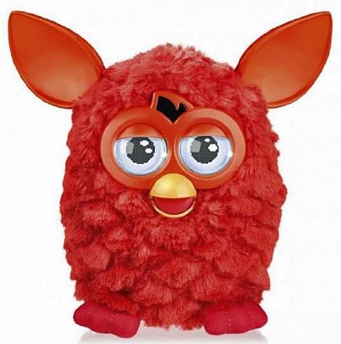 Peluche animée Furby électronique - Rouge