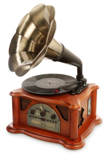 Platine gramophone pour vinyle sd et usb ricatech rmc350 - Lecteur disque vinyle ...