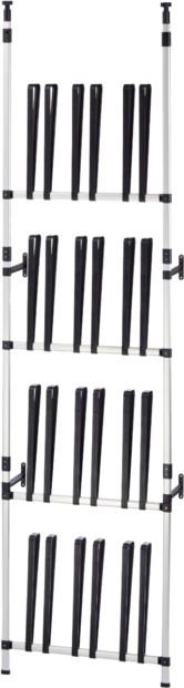 meuble de rangement pour 24 paires de bottes ruco v417