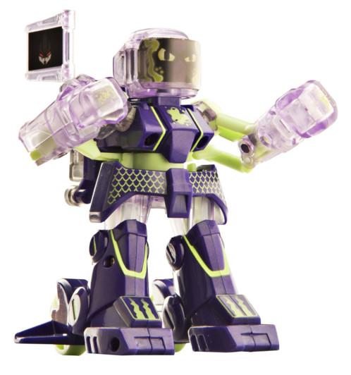 battroborg violet petit robot boxeur télécommandé