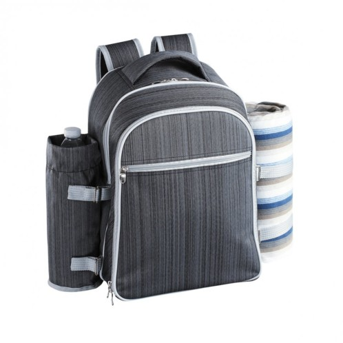 sac dos sp cial picnic avec poche isotherme pour 4 personnes. Black Bedroom Furniture Sets. Home Design Ideas